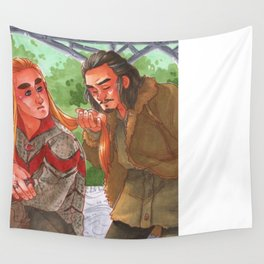 Courting a King [Barduil] Wall Tapestry