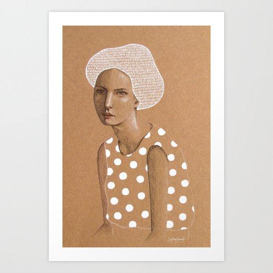 Neka Art Print