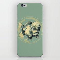 Bubble Head Fish iPhone & iPod Skin