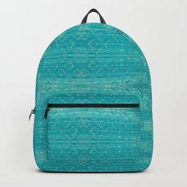 Blue Glass Diamonds Backpack