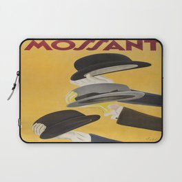 Vintage poster - Mossant Laptop Sleeve