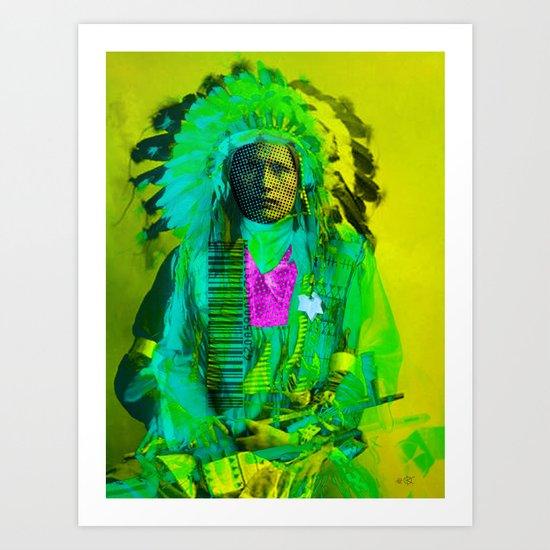 Indian Pop 83 Art Print