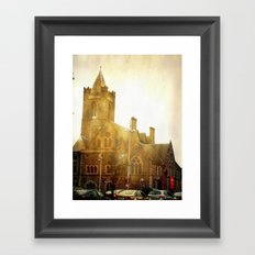 Church Time! Framed Art Print