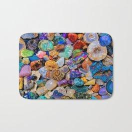 Rocks and Minerals, Geology Bath Mat