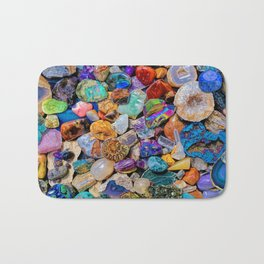 Rocks and Minerals, Geology Bath Mat