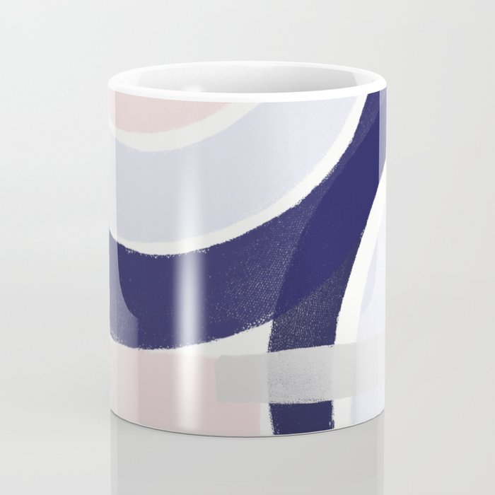 Pastel Abstract Combo 2 Coffee Mug