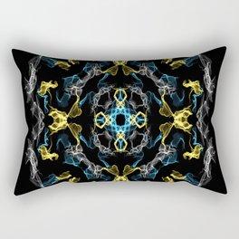 Abstract Silk Drawing Rectangular Pillow