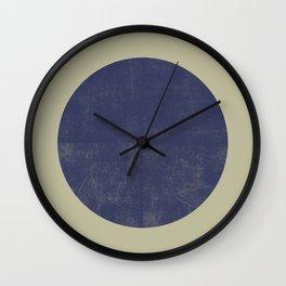 Black and Gold Circle 09 Wall Clock