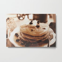Pancakes from the past Metal Print