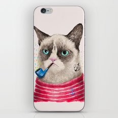 Sailor Cat II iPhone & iPod Skin