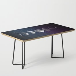 Phases of the Moon Coffee Table