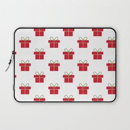 Christmas gifts - red and white Laptop Sleeve