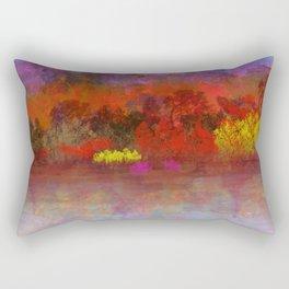 Pretty Purple Mountains Rectangular Pillow