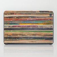 vinyl iPad Cases featuring Vinyl by elle moss