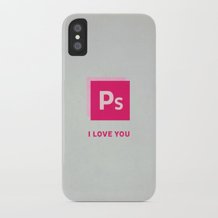 Ps I love you iPhone Case