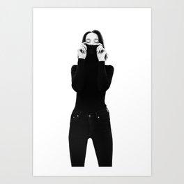 Corrie 2 Art Print