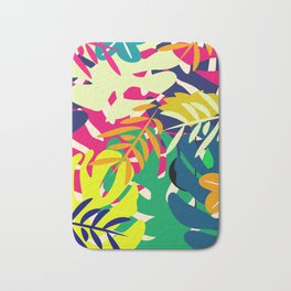 Tropical voyage Bath Mat