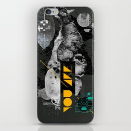 You are my lovely tumor iPhone Skin
