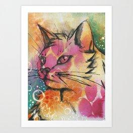 Wiskers Art Print