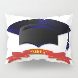 Cap Class Of 2017 Pillow Sham