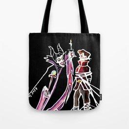 Maleficent & Prince Phillip Tote Bag