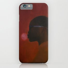 Red umbra iPhone Case