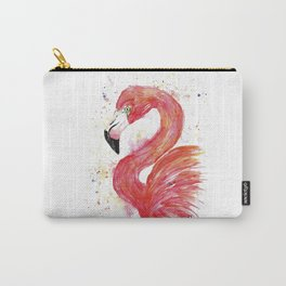 Flamingo - Think Pink Carry-All Pouch