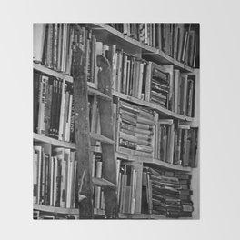 Book Shelves Throw Blanket