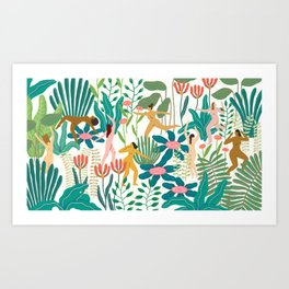 Celebrating Womanhood Art Print