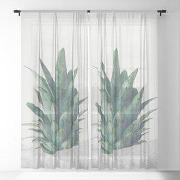 Pineapple Dip VIII Sheer Curtain