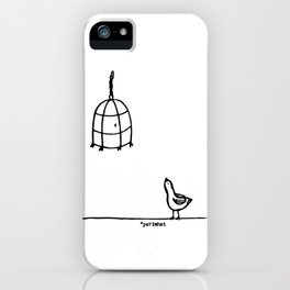 Pajaroto iPhone Case