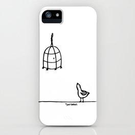 Pajaroto iPhone Case