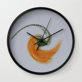 Blown In The Wind Wall Clock