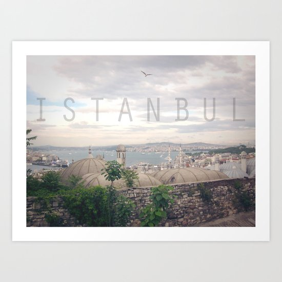 Country Series - Istambul Art Print