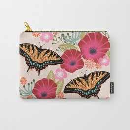 Swallowtail Florals by Andrea Lauren  Carry-All Pouch