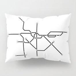 Metro São Paulo Pillow Sham
