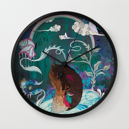 Delicate Distraction Wall Clock
