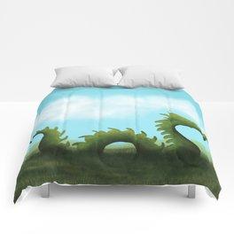 Dreams Of A Dragon Comforters
