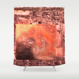 Childhood of humankind: Wisdom eye look right Shower Curtain