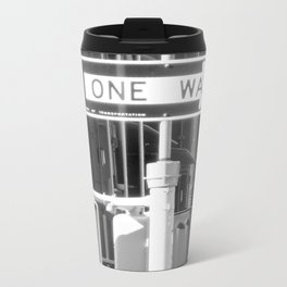 One Way Metal Travel Mug