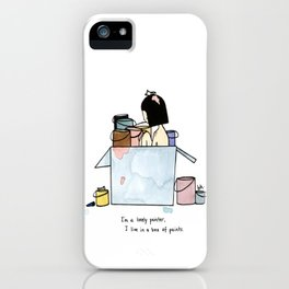 Lonely Painter iPhone Case