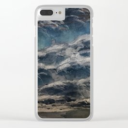 The Storm Shall Pass Clear iPhone Case
