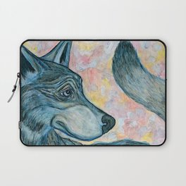 Moving Forward, Looking Back Laptop Sleeve