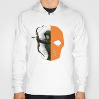 superheros Hoodies featuring Masked by Dooomcat