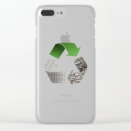 Recycle Clear iPhone Case