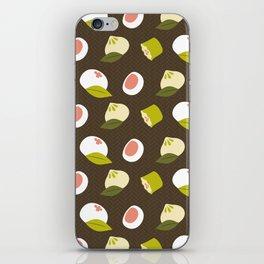 Dim sum pattern iPhone Skin