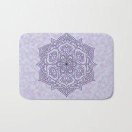 Spiritual Purple Mandala Bath Mat