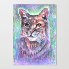 Whimsical Bobcat Canvas Print