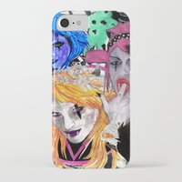 modern vampires of art history iPhone & iPod Cases featuring Vampires by Vicious East