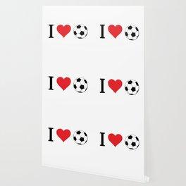 I Love Soccer Wallpaper